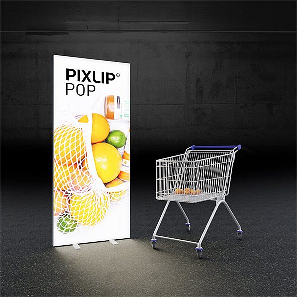 Pixlip Free-Standing Lightbox Display