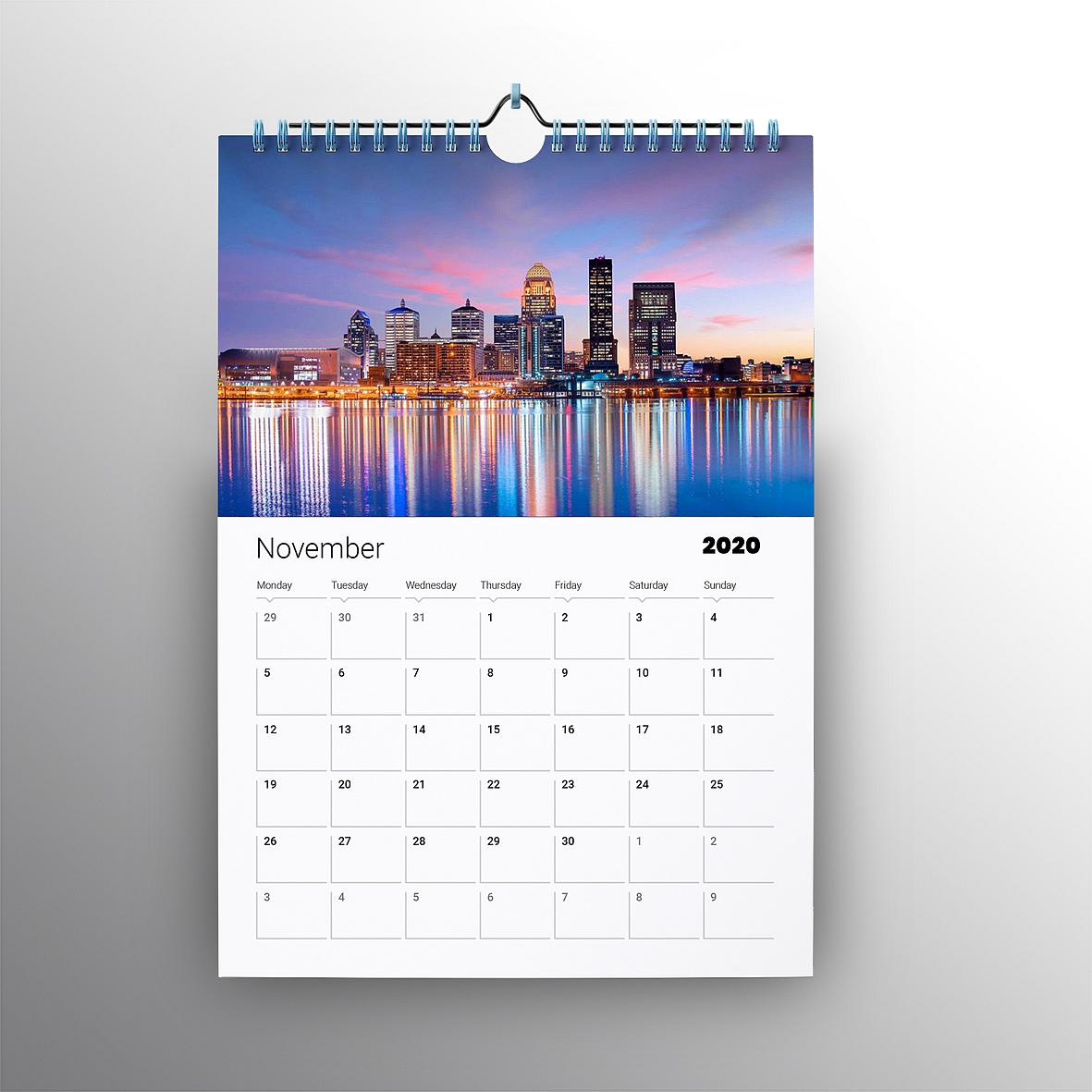 Digital Wall Calendars