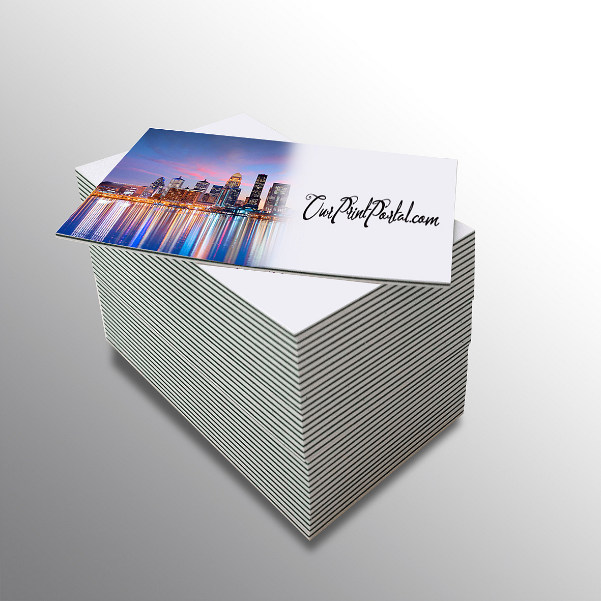 Luxury Triple Layer Business Cards